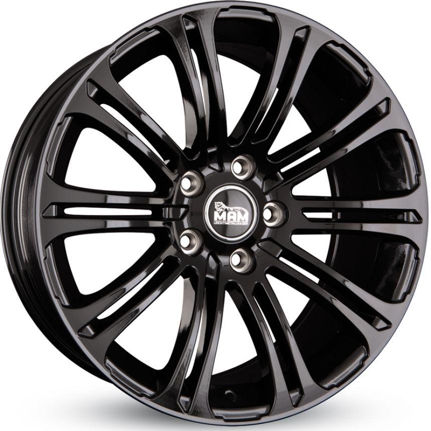 B1 Black Painted 10x21