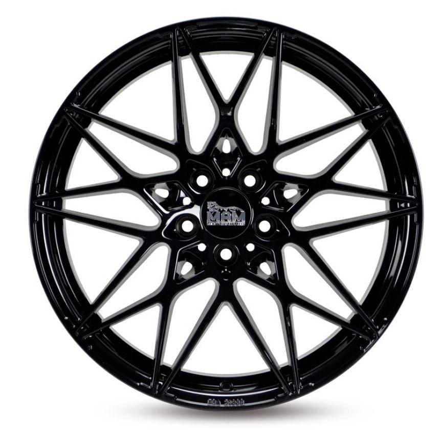B2 Black Painted 8.5x19