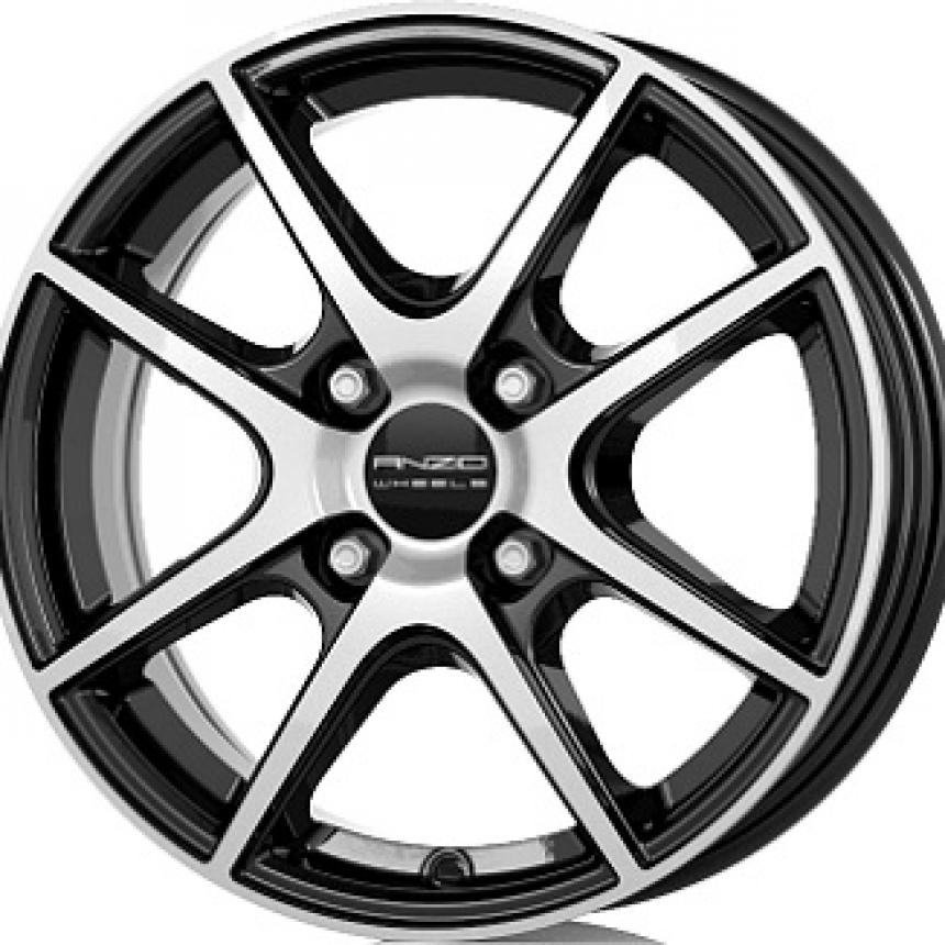 SPLIT Gloss Black / Polished 5.5x14