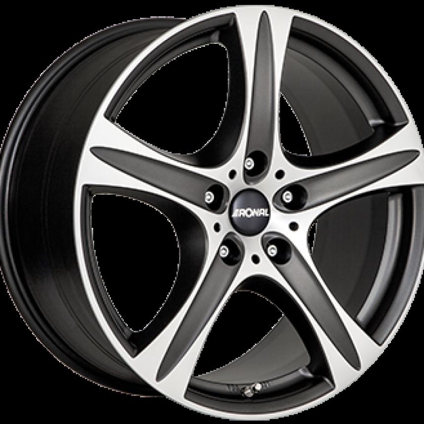R55 SUV Dull Black / Polished 9.0x19