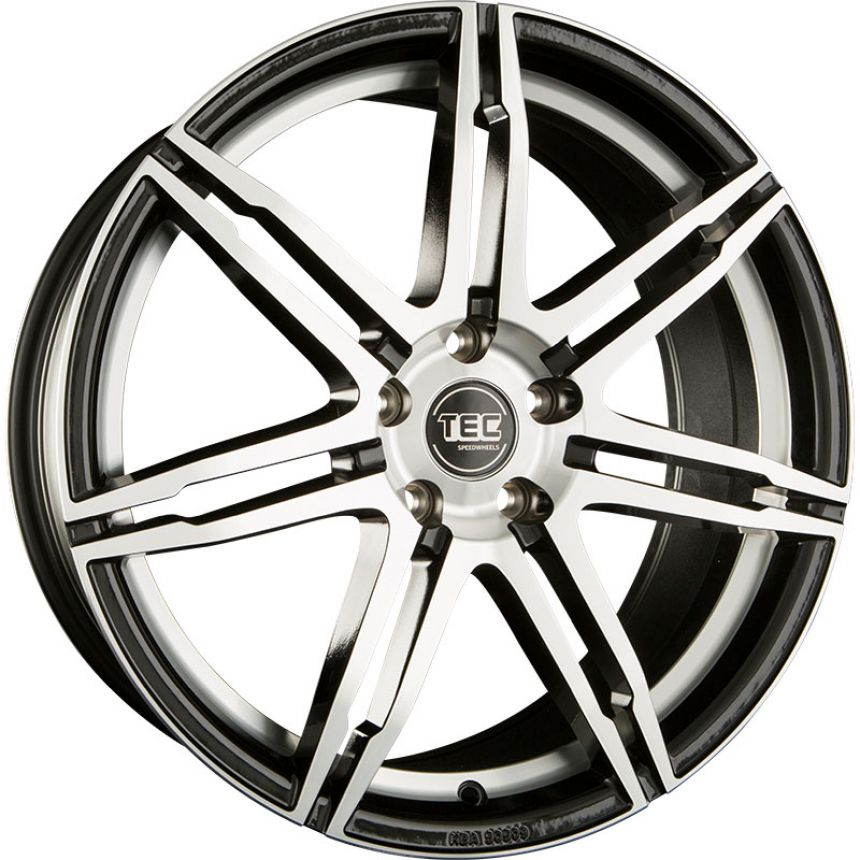 GT2 Black polished CB: 70.2 8x18